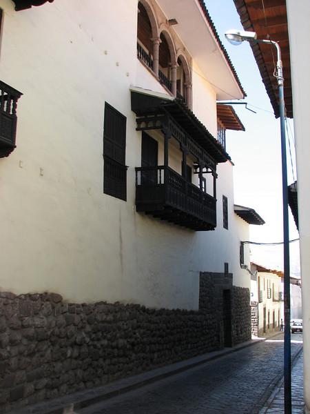 Spanish houses (Peru 2009, Cusco 3360m. )