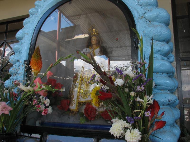 Mary's chapel (Peru 2009, Caraz 2290m. Cordillera Blanca)