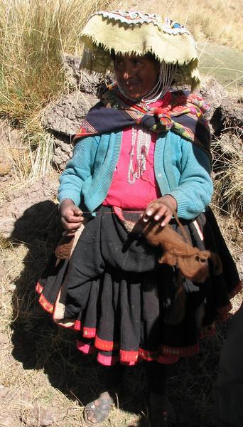 spin thread (Peru 2009, Nevado Ausangate)