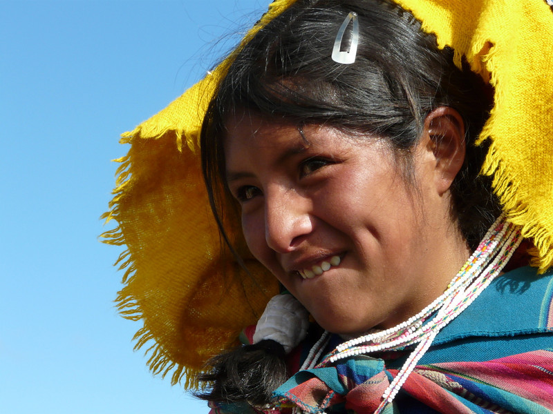 smile quietly (Peru 2009, Nevado Ausangate)