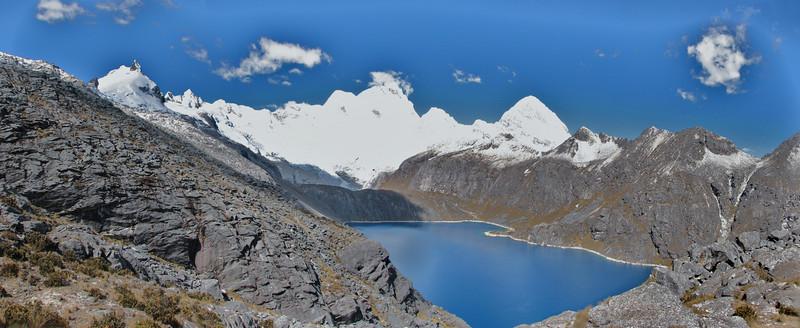 Panorama landscape (Peru 2009, Cordillera Blanca)