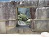 Inca- window (Peru 2009, Machu Picchu 2430m.)