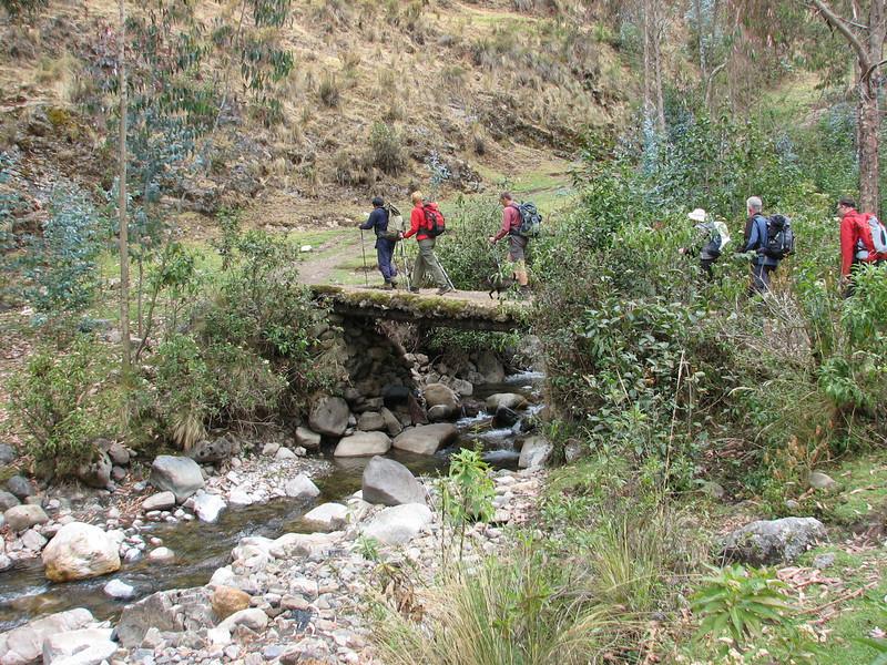 Continuation of our trek (Peru 2009, Cordillera Blanca)