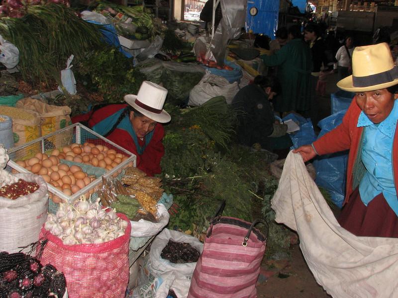 market (Peru 2009, indoor market place, Cusco 3360m. )
