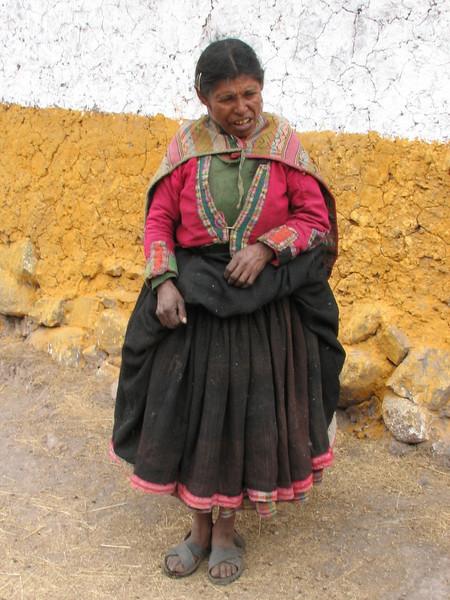 the wife of the house (Peru 2009, Nevado Ausangate)