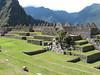 terasses of Machu Picchu (Peru 2009, Machu Picchu 2430m.)
