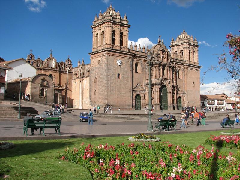 La Catedral on Plaza de Armas 1559, 1539 and 1773 (Peru 2009, Cusco 3360m.)