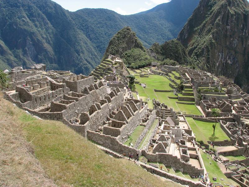 terraces (Peru 2009, Machu Picchu 2430m.)