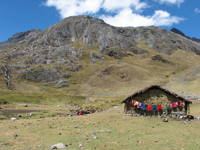 Living in the mountains (Peru 2009, Cordillera Blanca)