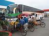 Lunchplace, bus Lima - Conococha-pass (4080m) - Caraz (2290m) (Peru 2009, Lima)
