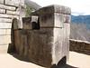 detail of Inca-stonework (Peru 2009, Machu Picchu 2430m.)