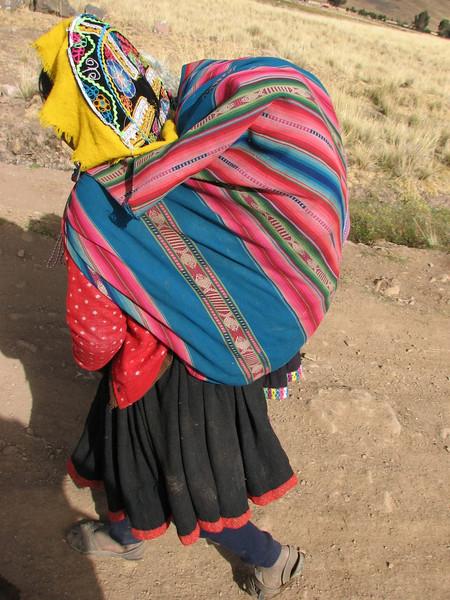 back pack (Peru 2009, Nevado Ausangate)