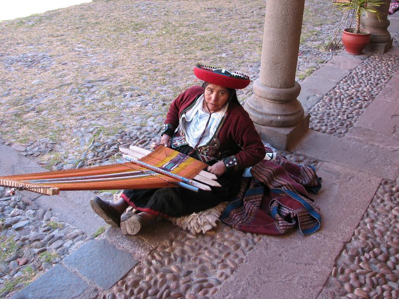 weave art (Peru 2009, Cusco 3360m. )