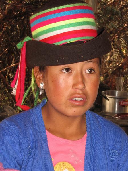 Waiter (Peru 2009, Nat. Park Huaraz (3090m.))