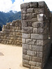 earthquake resistance walls (Peru 2009, Machu Picchu 2430m.)