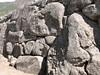 Inca stone walls (Peru 2009, Machu Picchu 2430m.)
