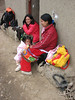 Young mother with her child (Peru 2009, Cordillera Blanca)