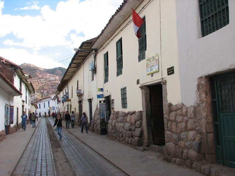 normal street view (Peru 2009, Cusco 3360m. )