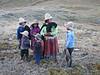 Mother with her children (Peru 2009, Cordillera Blanca)
