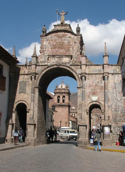 Arco Santa Clara (Peru 2009, Cusco 3360m.)