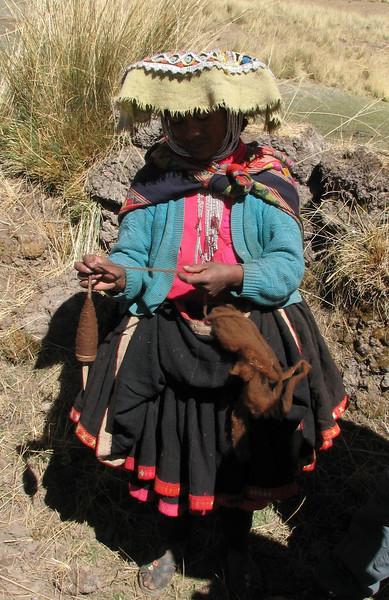 spinning (Peru 2009, Nevado Ausangate)