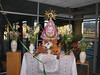 statue of the Virgin Mary in the airport of Lima (Peru 2009, airport Lima)