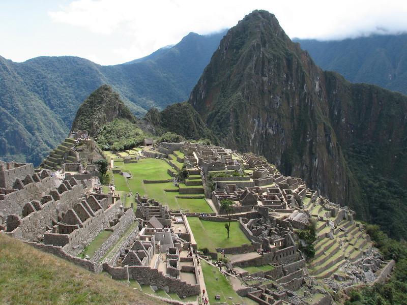 Machu Picchu (Peru 2009, Machu Picchu 2430m.)