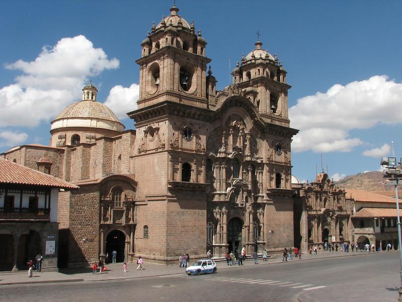 the church: Iglesia La Compania (Plaza de Armas) (Peru 2009, Cusco 3360m.)