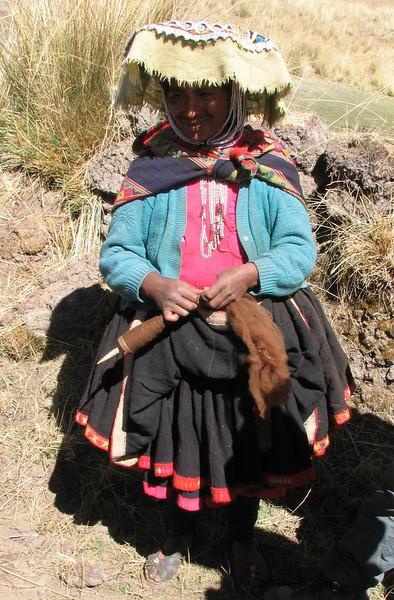 Alpaca wool (Peru 2009, Nevado Ausangate)
