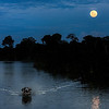 Evening on the Amazon River