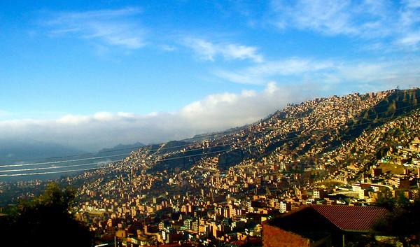 La Paz slopes