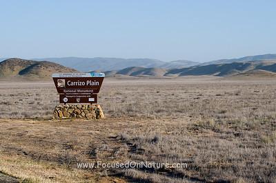 Carrizo Plain Entrance