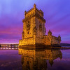 Sunrise On Belem Tower