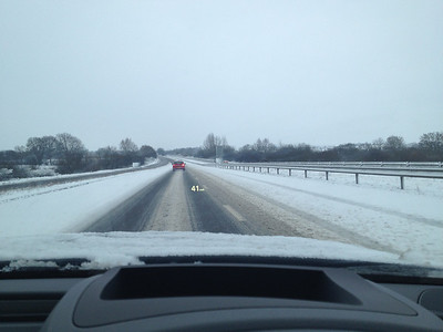 Getting to the airport was proving to be a challenge. This is the A1 yet we were down to something looking a bit like a farm track