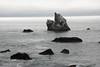 Rocks in the ocean near Mussel Rock (7/2/2008, Rim Trail, Patrick's Point SP, Redwoods trip)