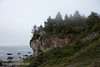 Rocky coastline with cliffs (7/2/2008, Rim Trail, Patrick's Point SP, Redwoods trip)