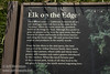 Sign about Roosevelt Elk in Elk Meadow off Davidson Rd.  (7/2/2008, Redwood NP, Redwoods trip)