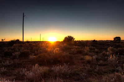 Sunrise in the Steppe of Grand Canyon