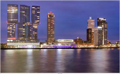 Rotterdam, NL Nightshot (3shots HDR)