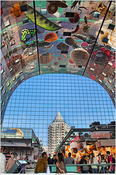 "Inside out: ""Markthal"", Rotterdam NL"