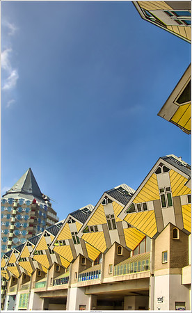 Cubical appartments, Rotterdam NL