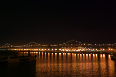The Bay Bridge from about Pier 7
