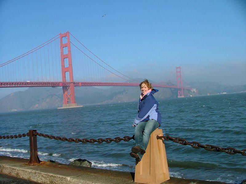 Steph and the bridge