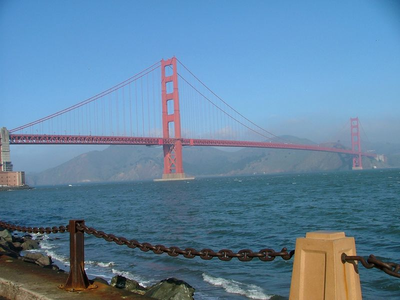 View of GG Bridge without me in it..