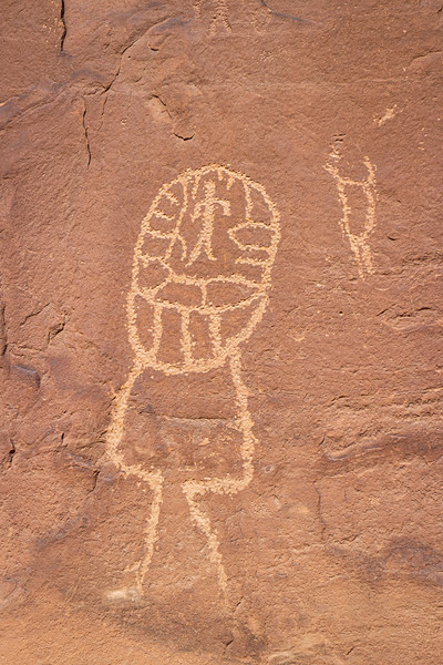 Petroglyph near Butler Wash