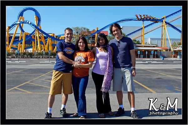 Kelly, Monique, Preethi and Ricardo