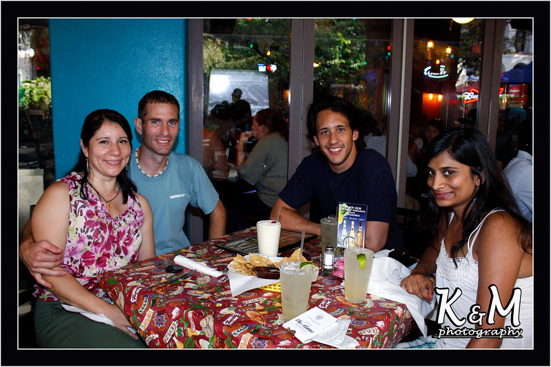 Monique, Kelly, Ricardo and Preethi