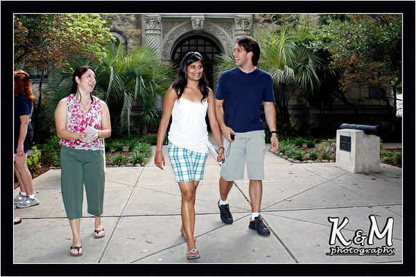Monique, Preethi and Ricardo