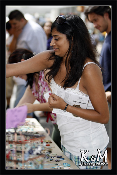 Preethi Shopping at Fair