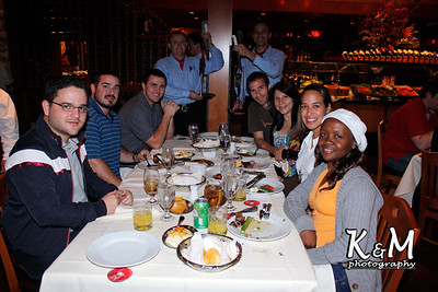 Applied Reservoir Engineering Class @ Fogo de Chao